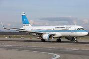 9K-AKH - Kuwait Airways Airbus A320 aircraft