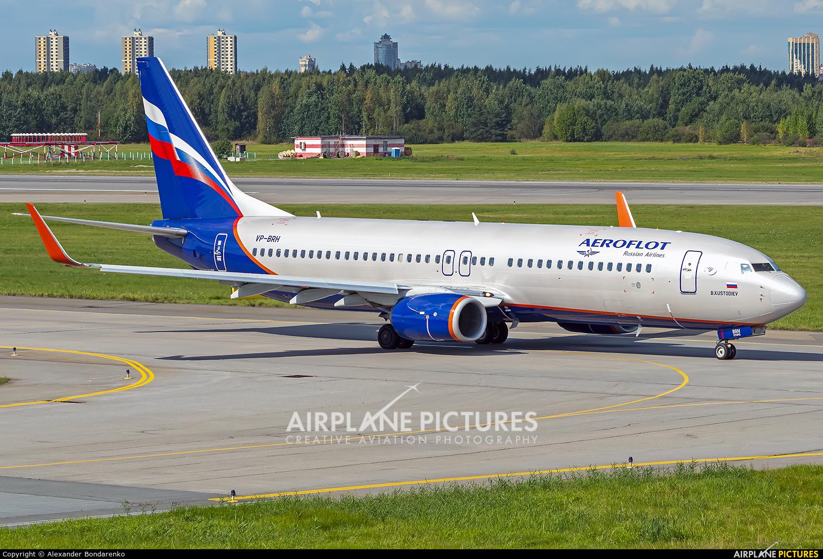 Aeroflot VP-BRH aircraft at St. Petersburg - Pulkovo