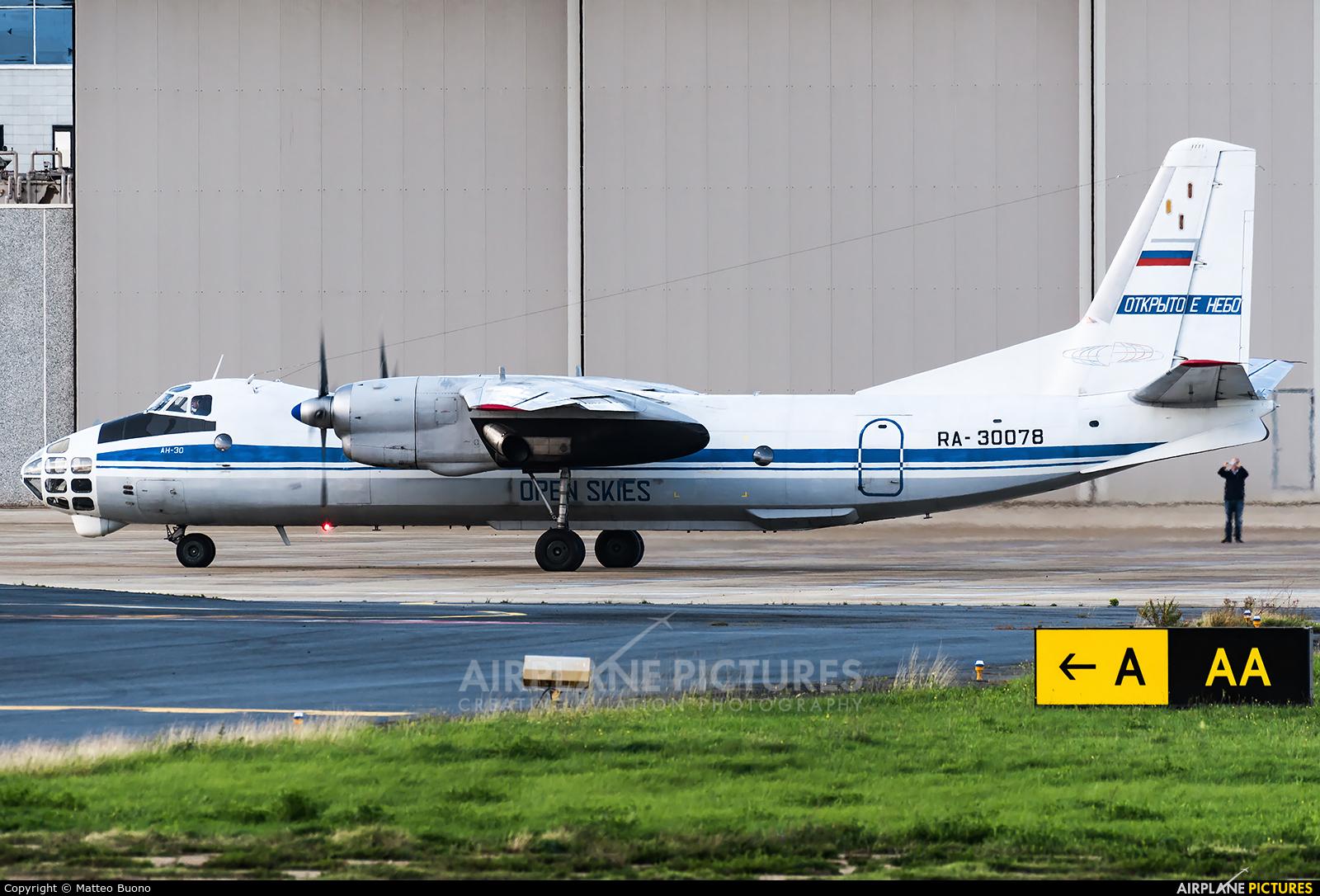Russia - Air Force RA-30078 aircraft at Rome - Ciampino