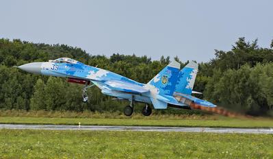 SU-27 - Ukraine - Air Force Sukhoi Su-27