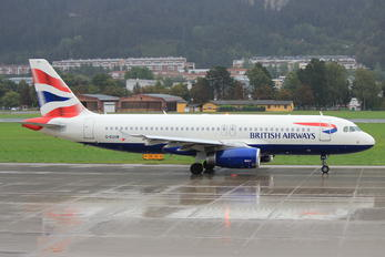 G-EUUB - British Airways Airbus A320