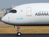 HL8361 - Asiana Airlines Airbus A350-900 aircraft