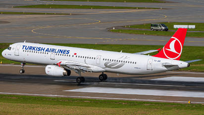 TC-JRK - Turkish Airlines Airbus A321