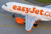 G-EZBU - easyJet Airbus A319 aircraft