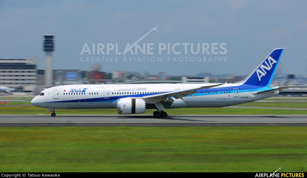ANA - All Nippon Airways JA833A aircraft at Osaka - Itami Intl