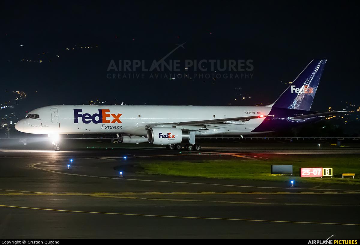 FedEx Federal Express N934FD aircraft at San Jose - Juan Santamaría Intl