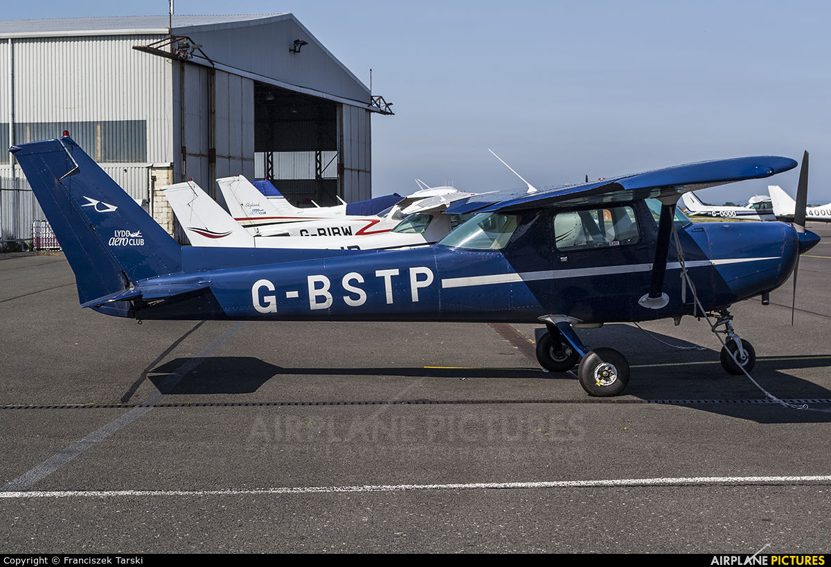 Lydd Aero Club G-BSTP aircraft at Lydd