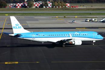 PH-EZU - KLM Cityhopper Embraer ERJ-190 (190-100)