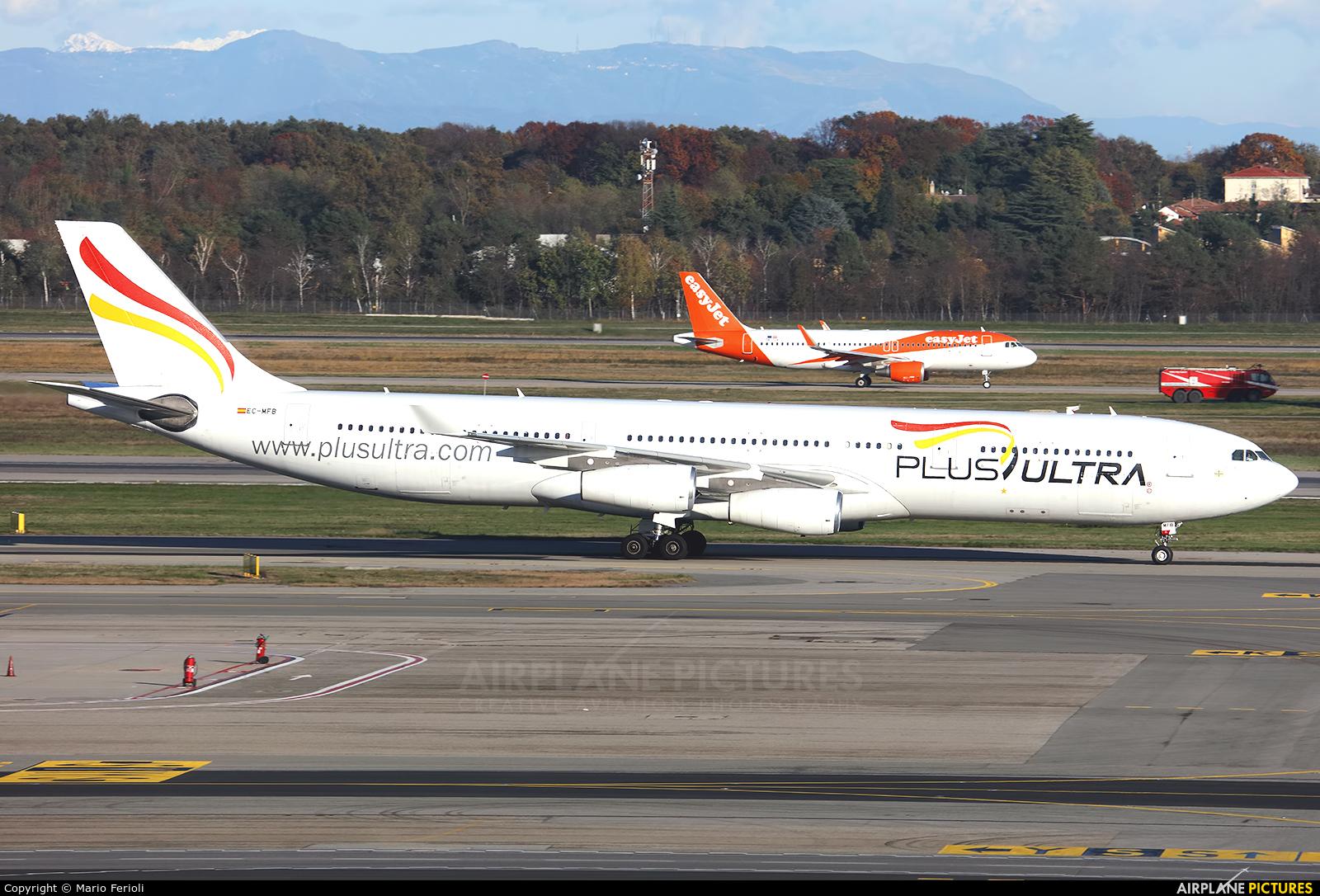 Plus Ultra EC-MFB aircraft at Milan - Malpensa