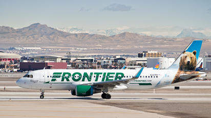 N227FR - Frontier Airlines Airbus A320