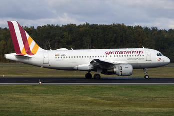 D-AKNS - Germanwings Airbus A319