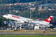 HB-JCH - Swiss Bombardier CS300 aircraft