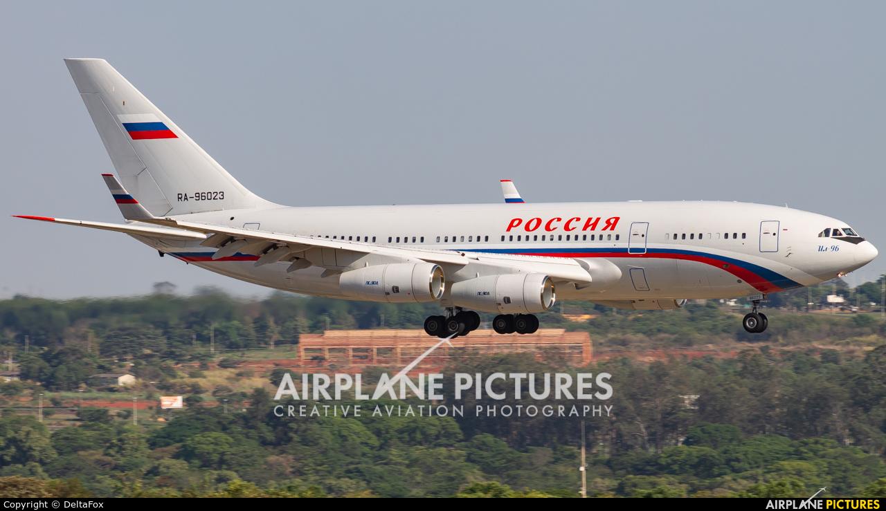 Rossiya Special Flight Detachment RA-96023 aircraft at Brasília - Presidente Juscelino Kubitschek Intl