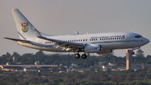 ZS-RSA - South Africa - Air Force Boeing 737-700 BBJ aircraft