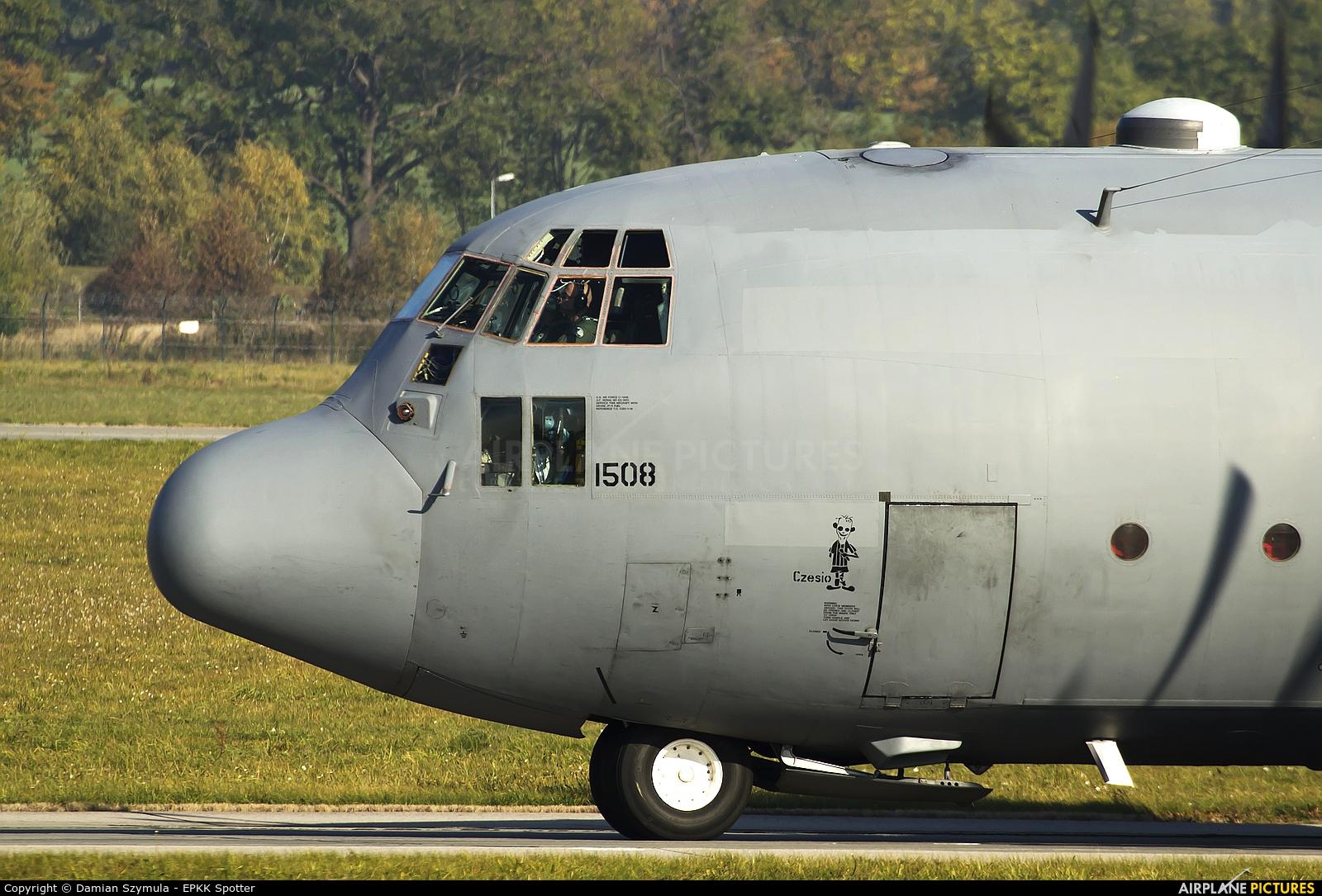 Poland - Air Force 1508 aircraft at Kraków - John Paul II Intl