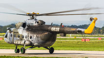 0828 - Czech - Air Force Mil Mi-17 aircraft