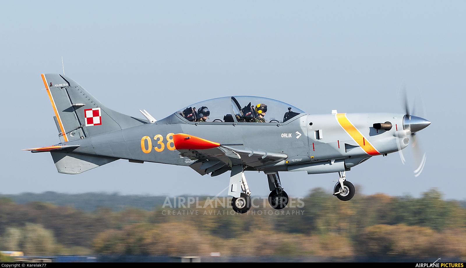 Poland - Army 038 aircraft at Dęblin