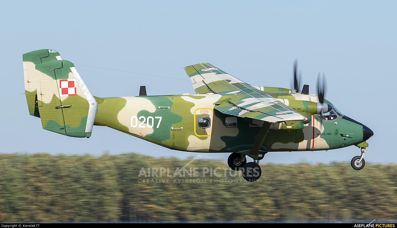 Poland - Army 0207 aircraft at Dęblin