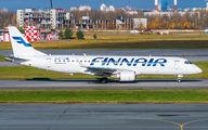OH-LKI - Finnair Embraer ERJ-190 (190-100) aircraft