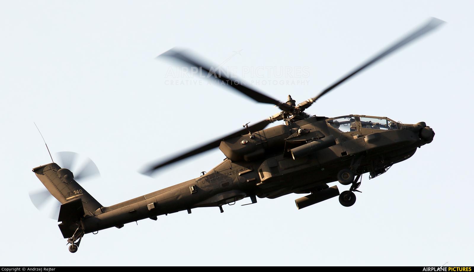 USA - Army 17-03140 aircraft at Giżycko