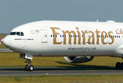 A6-ENX - Emirates Airlines Boeing 777-300ER aircraft