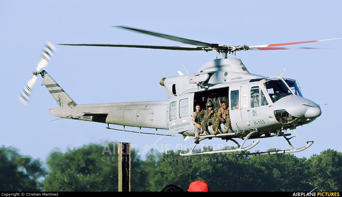 Argentina - Air Force H-103 aircraft at Reconquista - Daniel Jurkic