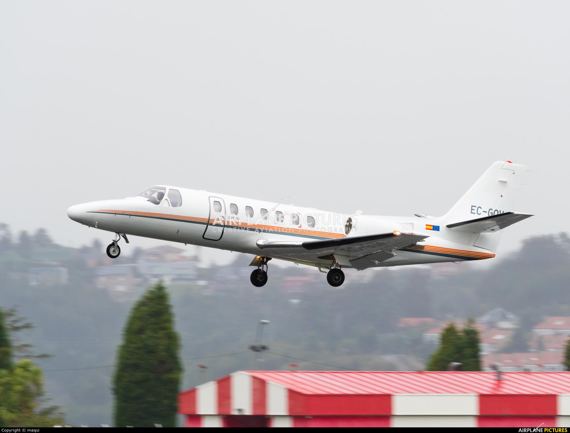 Gestair EC-GOV aircraft at La Coruña