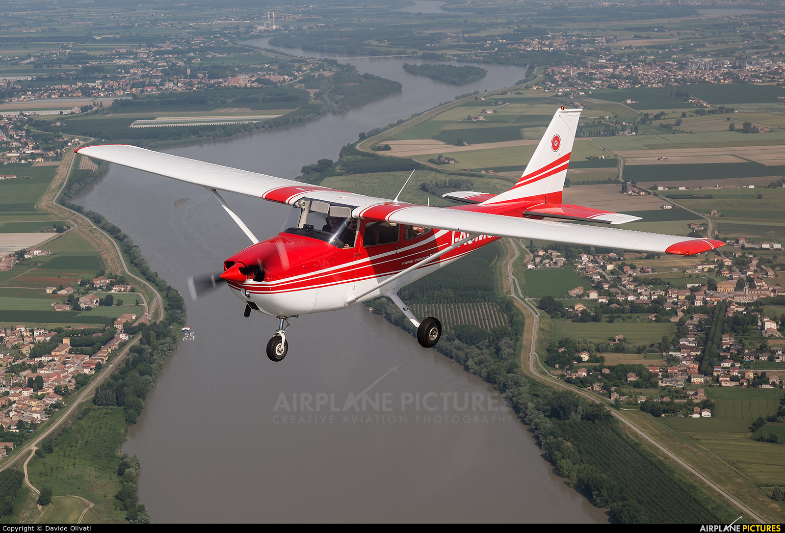 Private I-ACMQ aircraft at In Flight - Italy