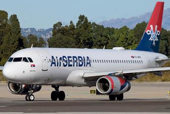YU-APH - Air Serbia Airbus A320