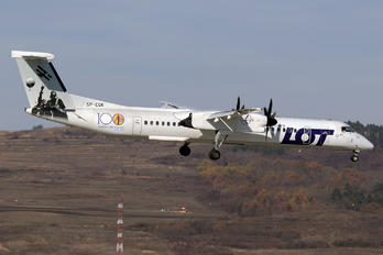 SP-EQK - LOT - Polish Airlines de Havilland Canada DHC-8-400Q / Bombardier Q400