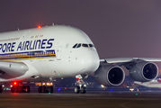 9V-SKU - Singapore Airlines Airbus A380 aircraft