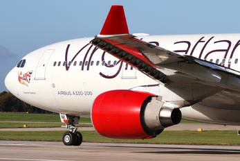 G-VMNK - Virgin Atlantic Airbus A330-200