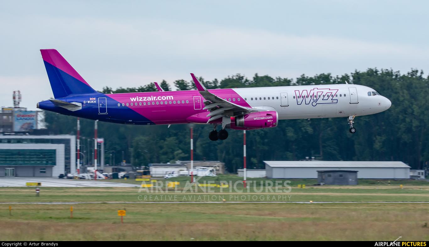 Wizz Air UK G-WUKH aircraft at Kraków - John Paul II Intl
