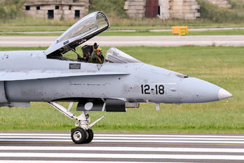 C.15-60 - Spain - Air Force McDonnell Douglas EF-18A Hornet