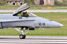 Spain - Air Force McDonnell Douglas EF-18A Hornet C.15-60 at Siauliai airport
