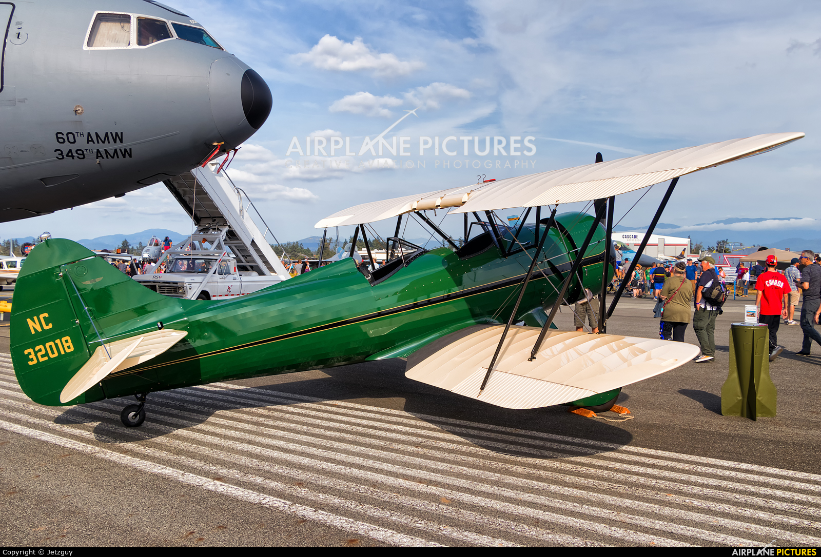 Private NC32018 aircraft at Abbotsford, BC