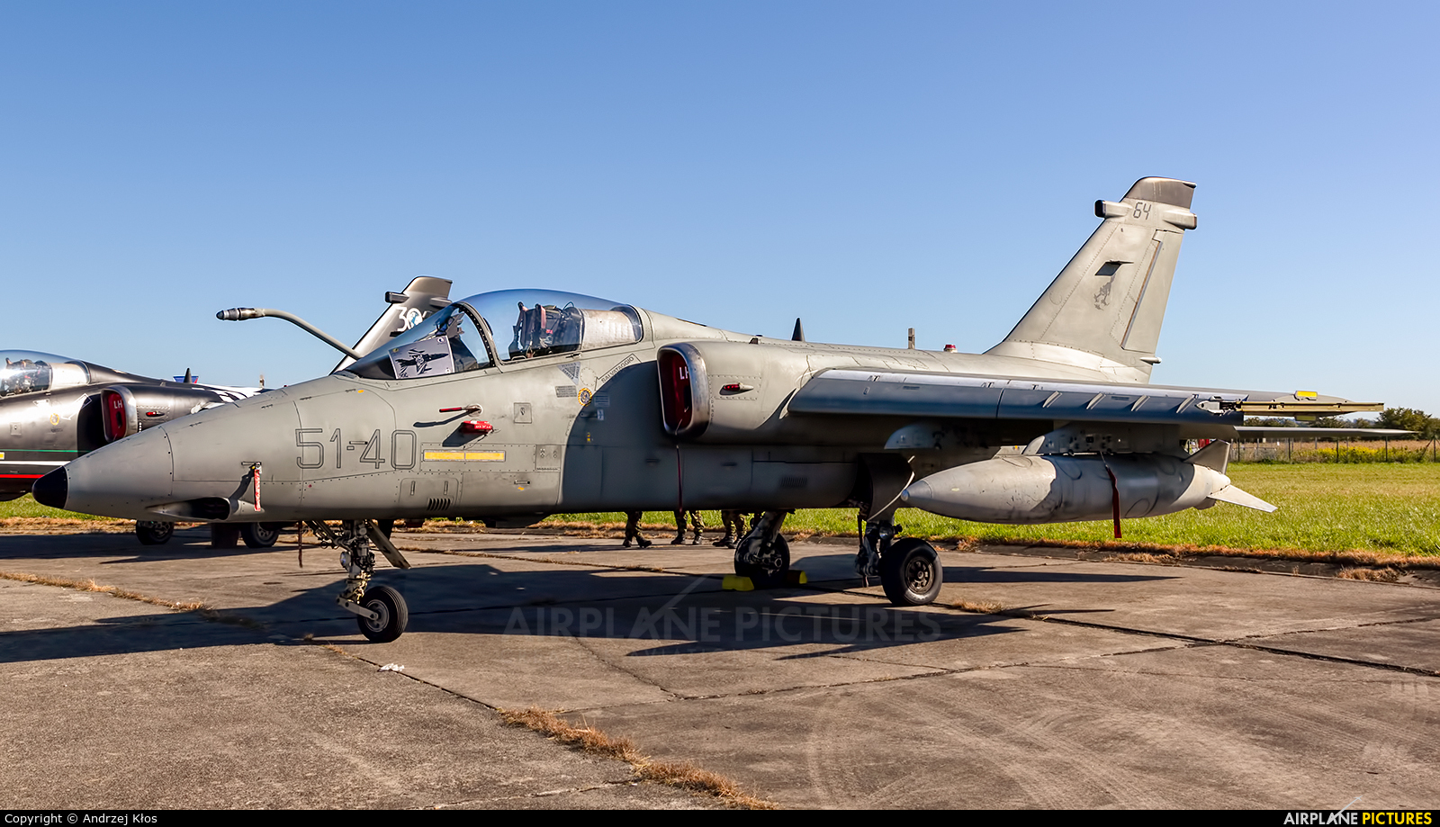 Italy - Air Force MM7164 aircraft at Vienna - Schwechat