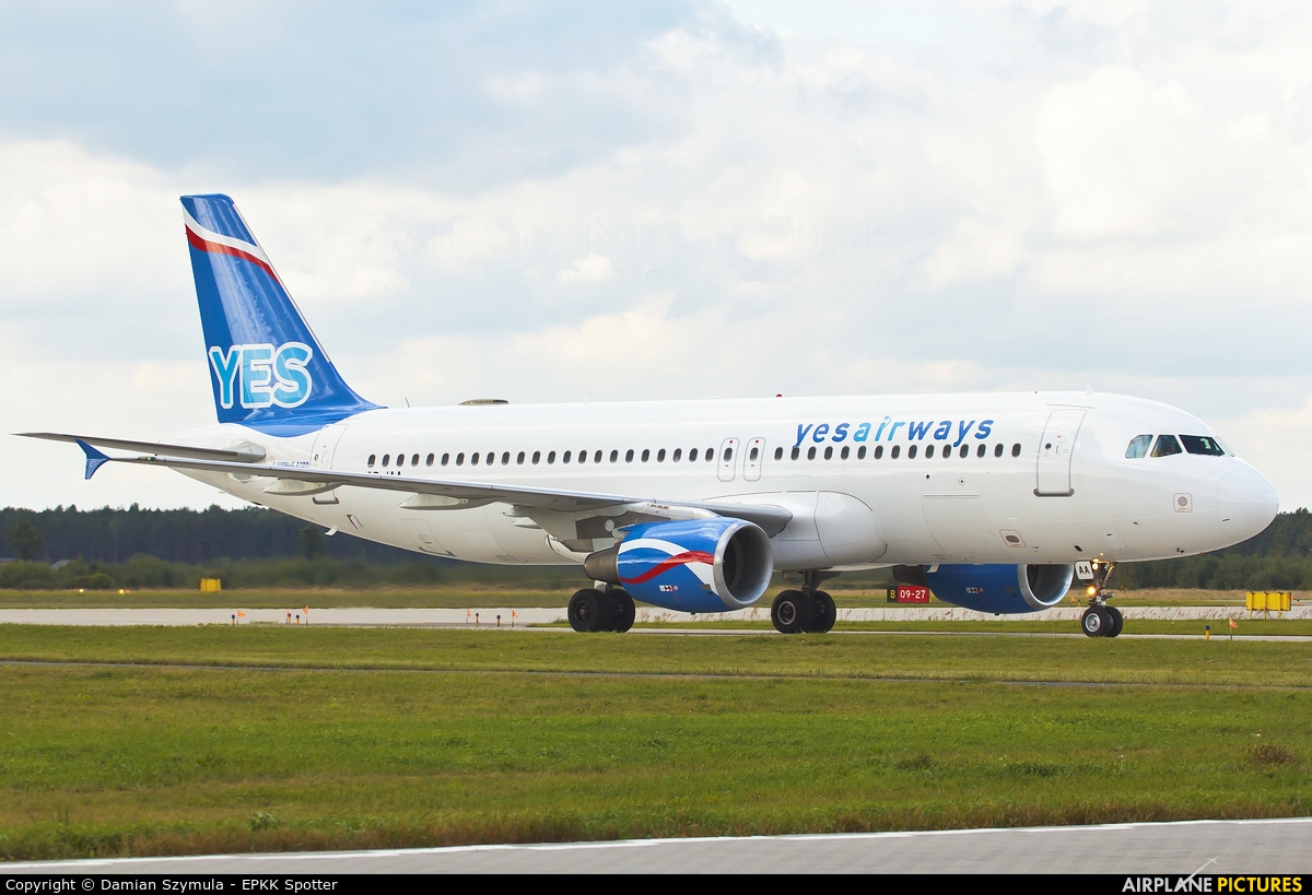 Yes Airways SP-IAA aircraft at Katowice - Pyrzowice