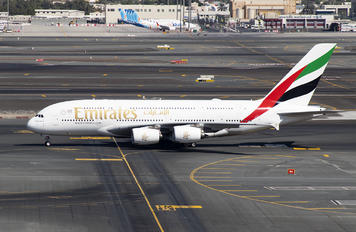 A6-EUL - Emirates Airlines Airbus A380