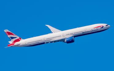 G-STBD - British Airways Boeing 777-300ER