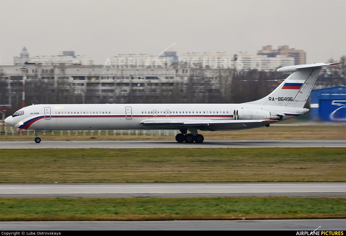 Russia - Air Force RA-86496 aircraft at St. Petersburg - Pulkovo