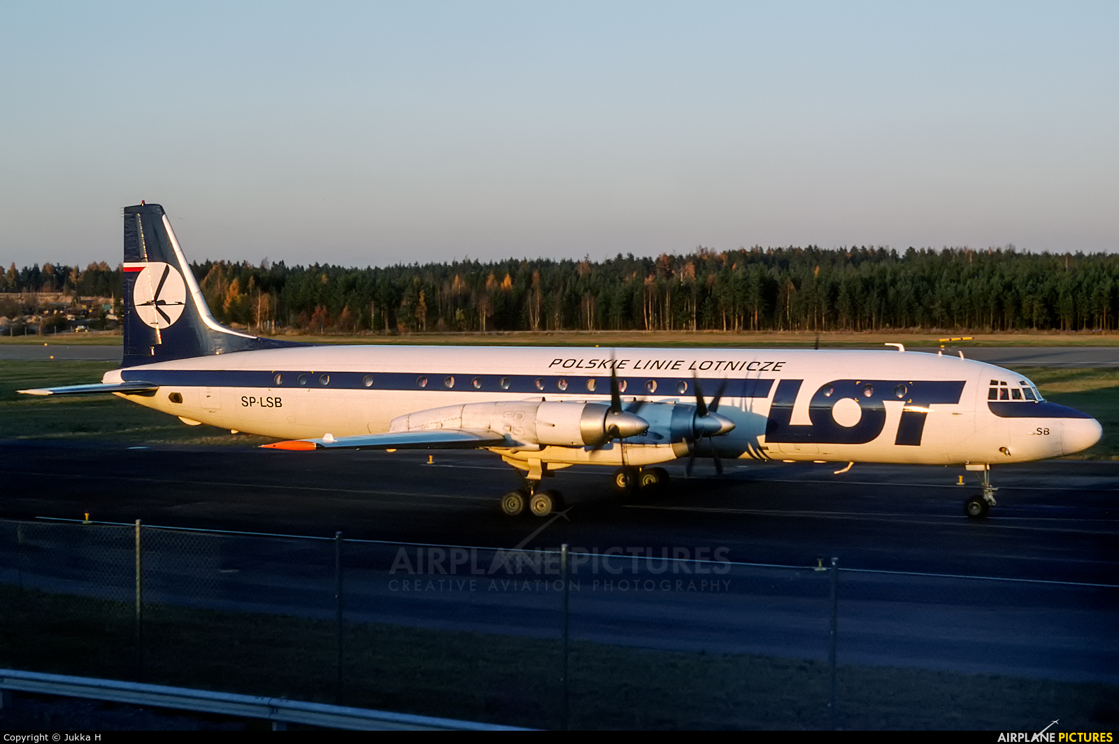 LOT - Polish Airlines SP-LSB aircraft at Helsinki - Vantaa