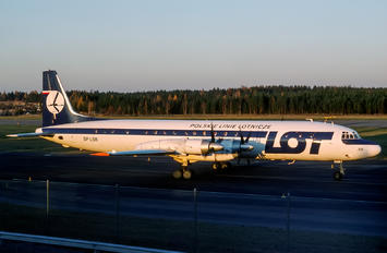 SP-LSB - LOT - Polish Airlines Ilyushin Il-18 (all models)