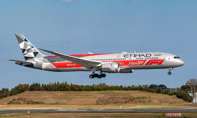 A6-BLV - Etihad Airways Boeing 787-9 Dreamliner