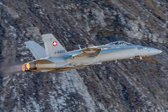 J-5020 - Switzerland - Air Force McDonnell Douglas F/A-18C Hornet