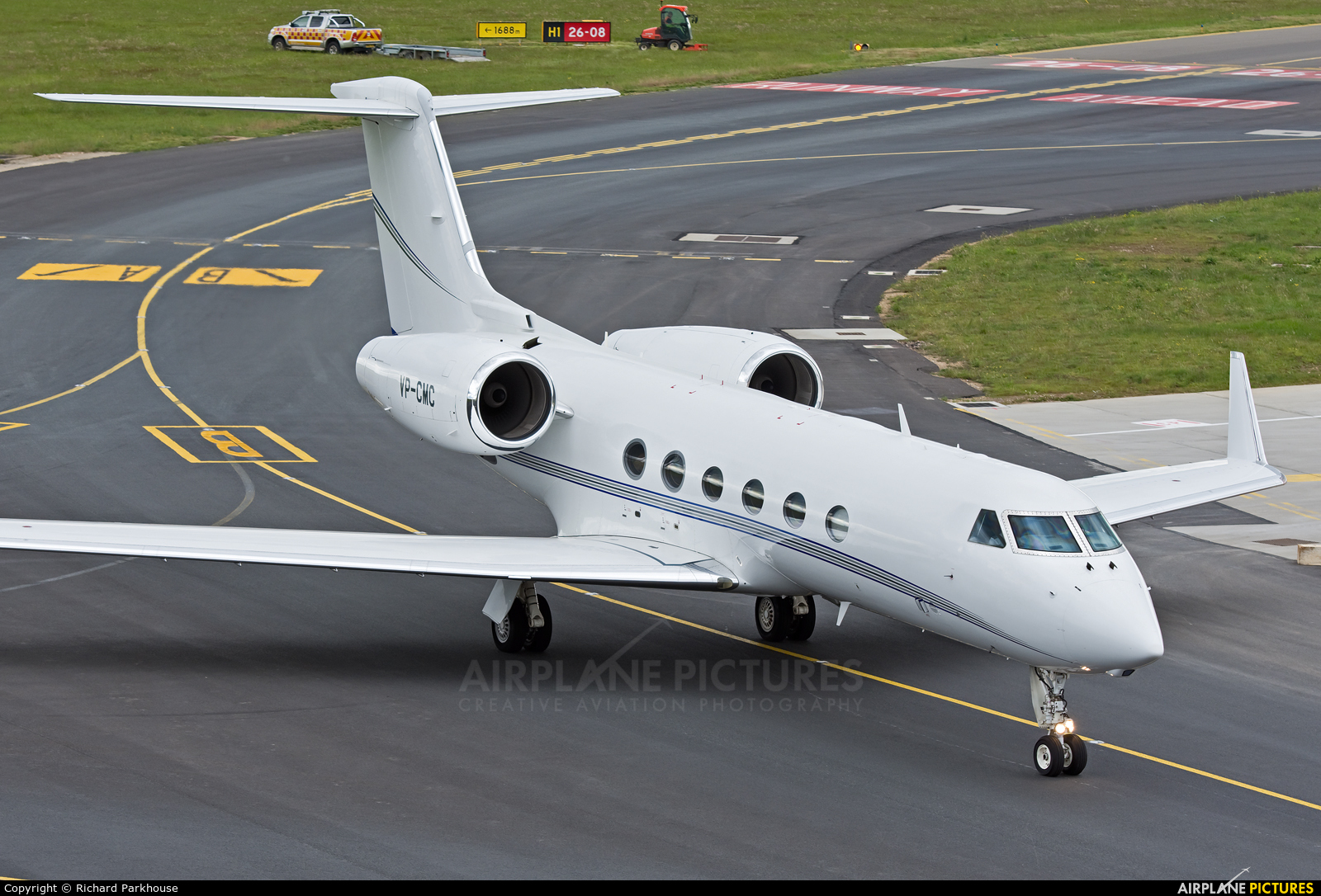 Private VP-CMC aircraft at London - Luton
