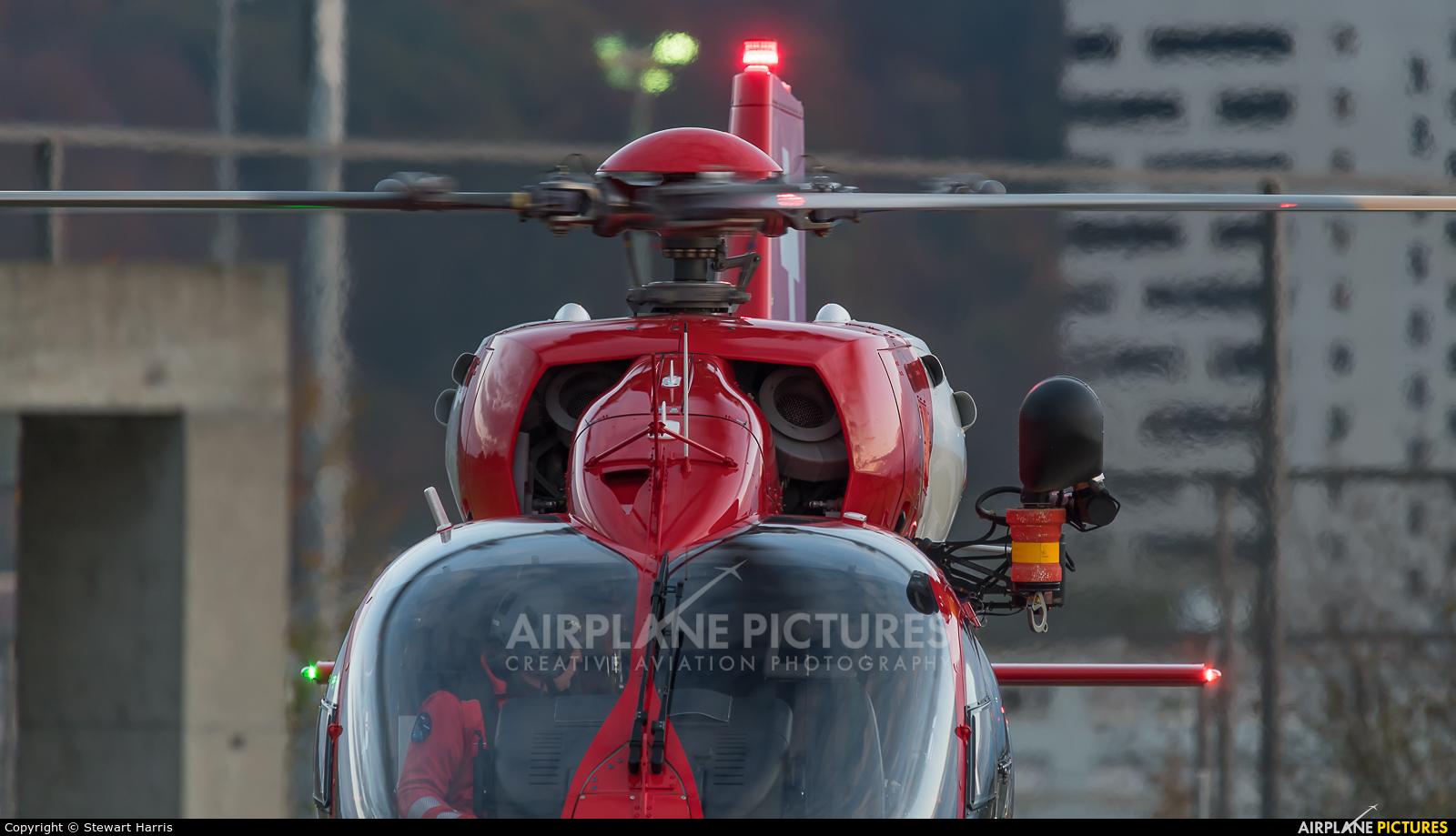 REGA Swiss Air Ambulance  HB-ZQM aircraft at Lausanne - La Blécherette