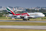 A6-EEV - Emirates Airlines Airbus A380 aircraft