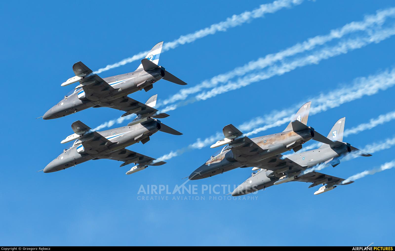 Finland - Air Force: Midnight Hawks HW-357 aircraft at Ostrava Mošnov