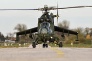 728 - Poland - Air Force Mil Mi-24V aircraft
